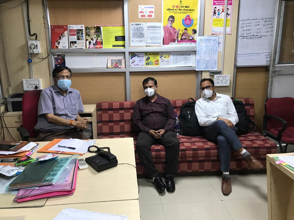 Data collection for Endline Assessment IDI-SEPIO at Bhopal, MP