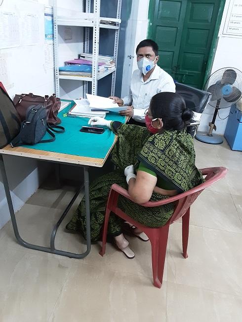 Data collection for Endline Assessment at Jatni, Khordha, Odisha
