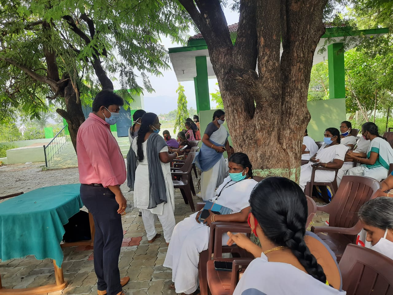 Data collection for Endline Assessment at Madurai, TN