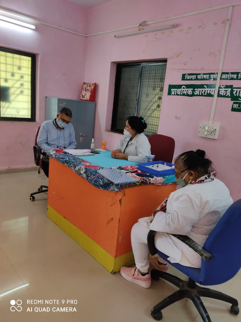 Data collection for Endline Assessment at Pune, MH