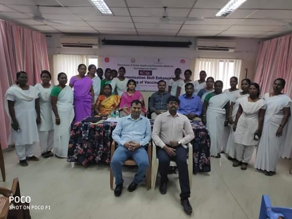 Dr. Rajat Garg, Program Manager, RISE after an orientation session at Kancheepuram,TN