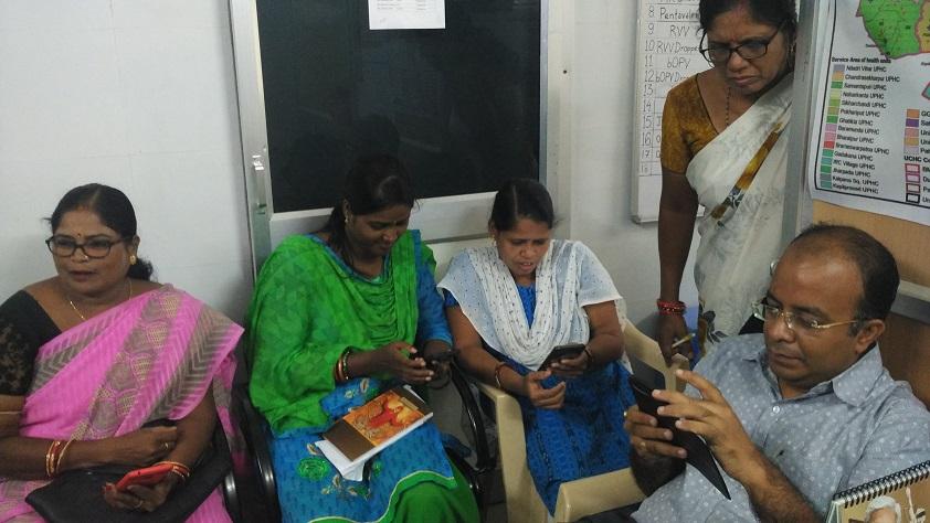 Field Testing of LMS in Capital Hospital, Bhubaneswar, Odisha