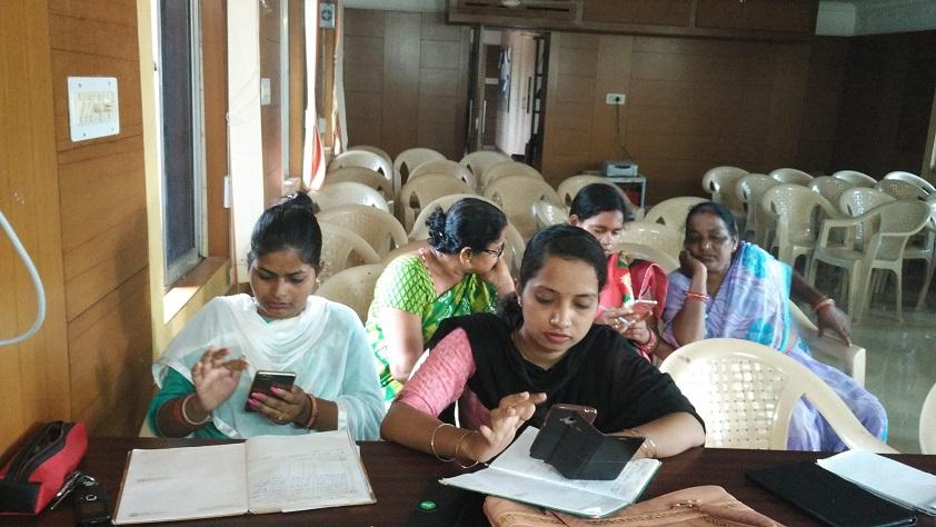 Field Testing of LMS in Jatani, Khordha, Odisha