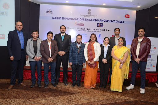 Senior government officials,HP with RISE Team
