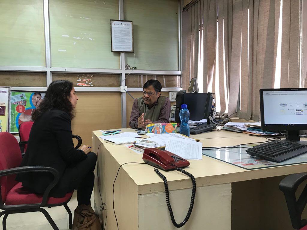 In-depth interview of Dr. Santosh Shukla, AD, Immunization, MP