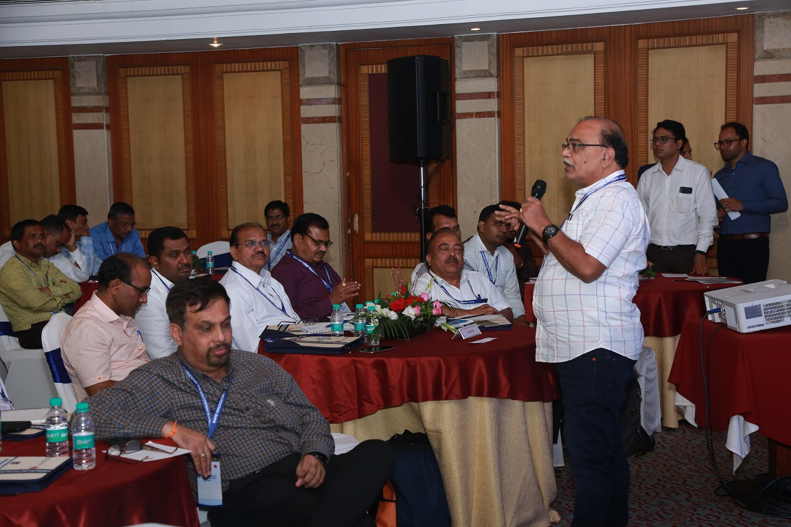 Dr. D. N. Patil, SEPIO, MH interacting with the audience