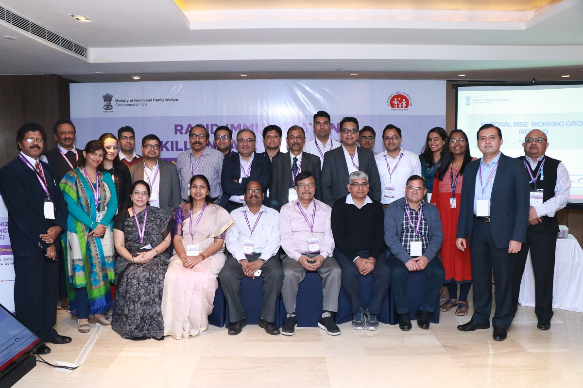 National Working Group Meeting -Group Photograph