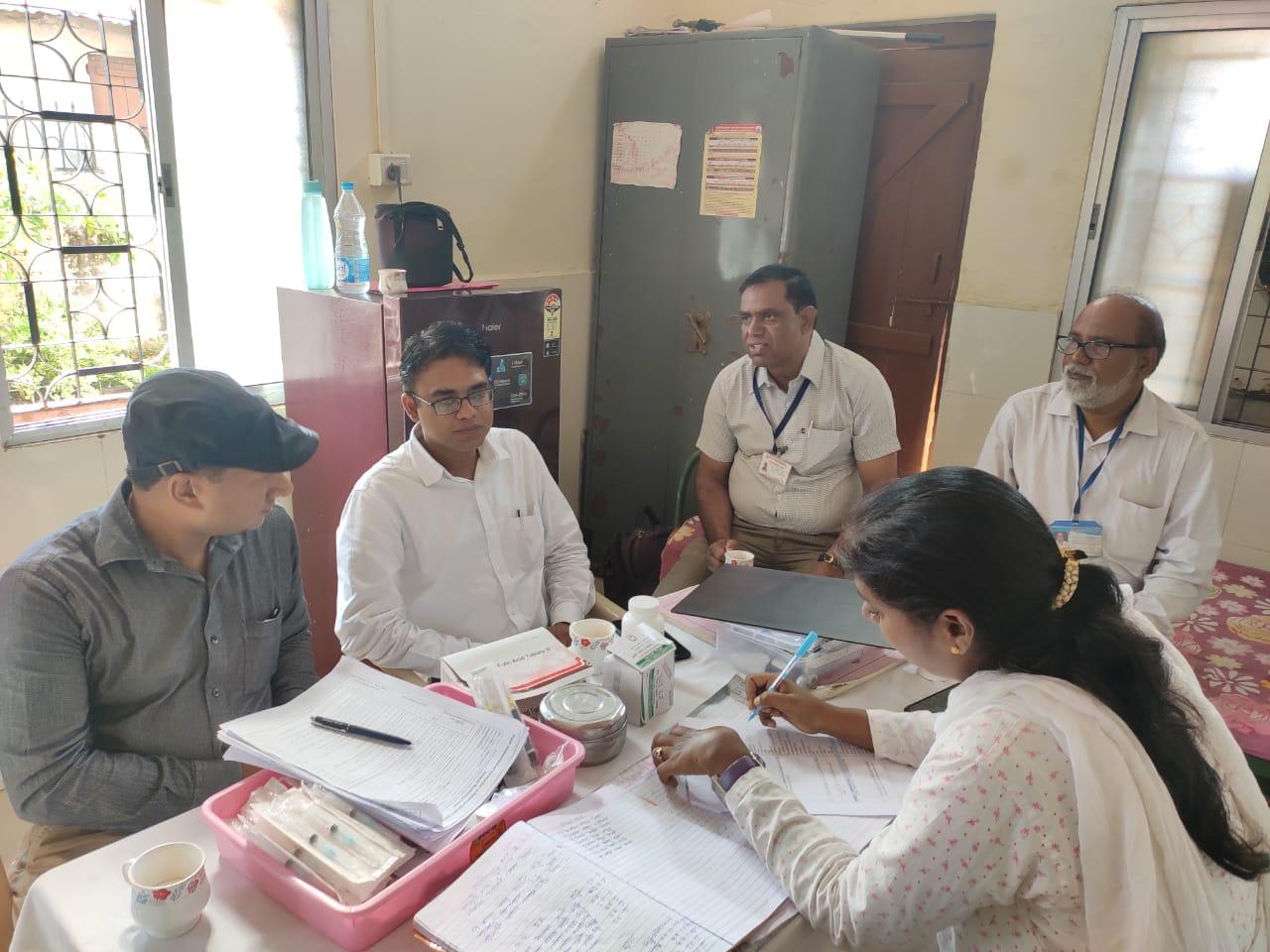Session observation for baseline assessment at Nagpur, Maharashtra