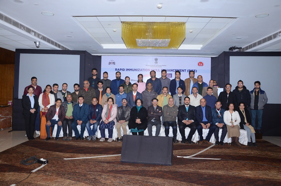 State Launch of RISE, HP -Group Photograph